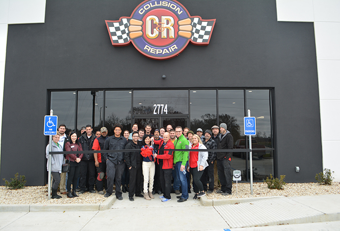 C & R Collision Invites You to Our Grand Opening