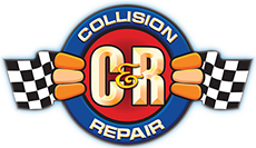 C&R Collision Logo
